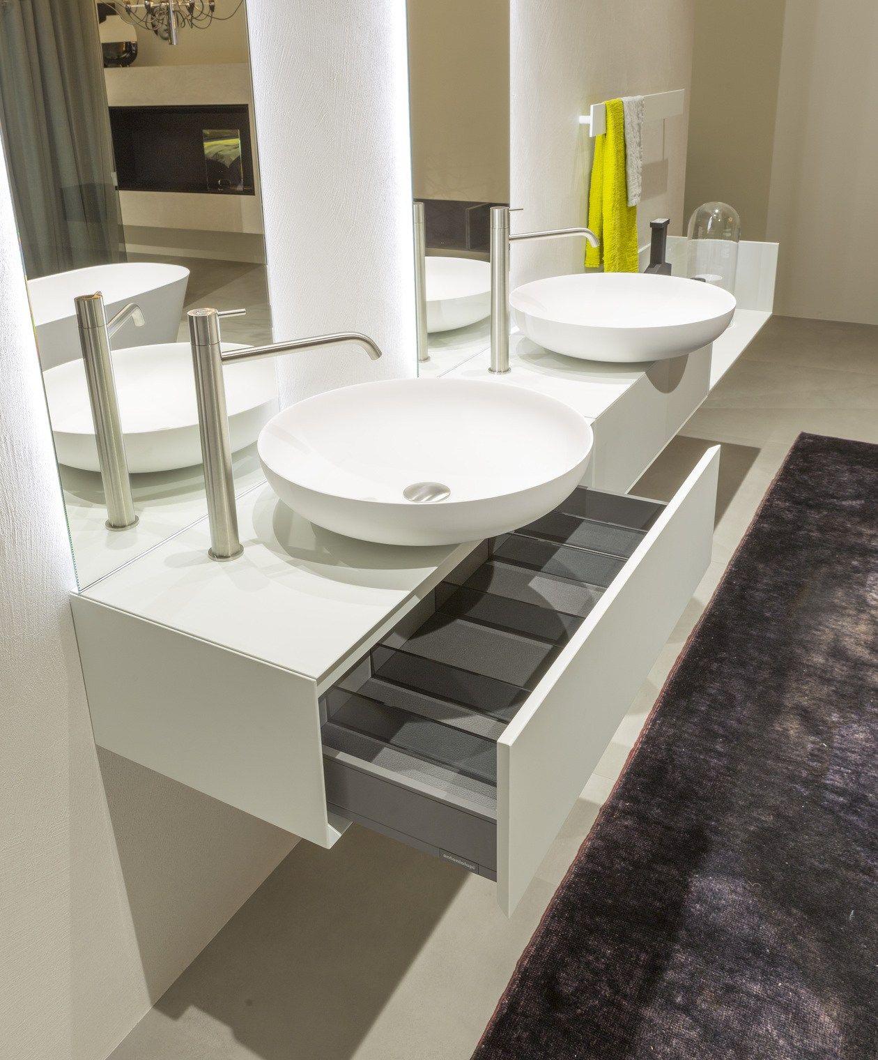 Traccia by antonio lupi design for Arredo bagno completo