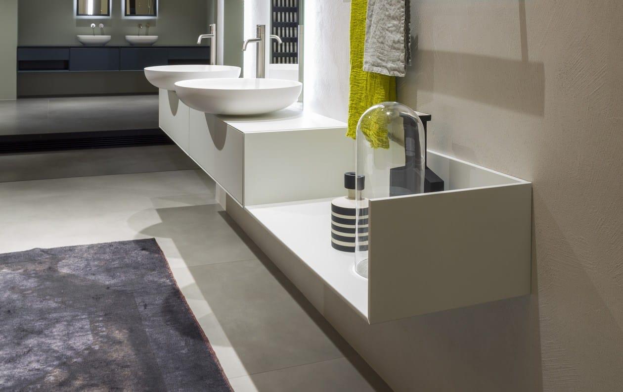 Arredo bagno completo TRACCIA - Antonio Lupi Design®