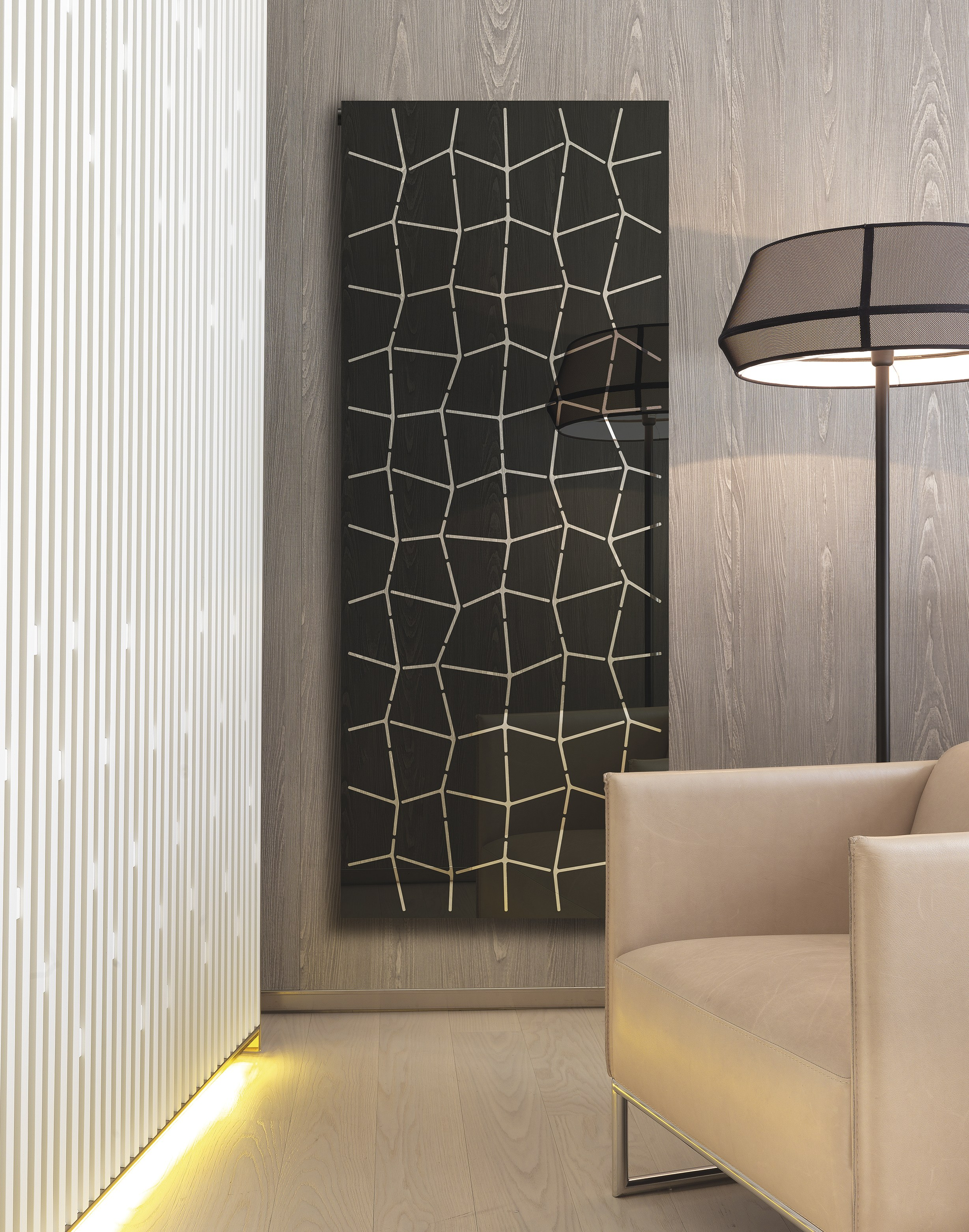Termoarredo a parete trama by k8 radiatori design marco pisati - Radiatori a parete prezzi ...