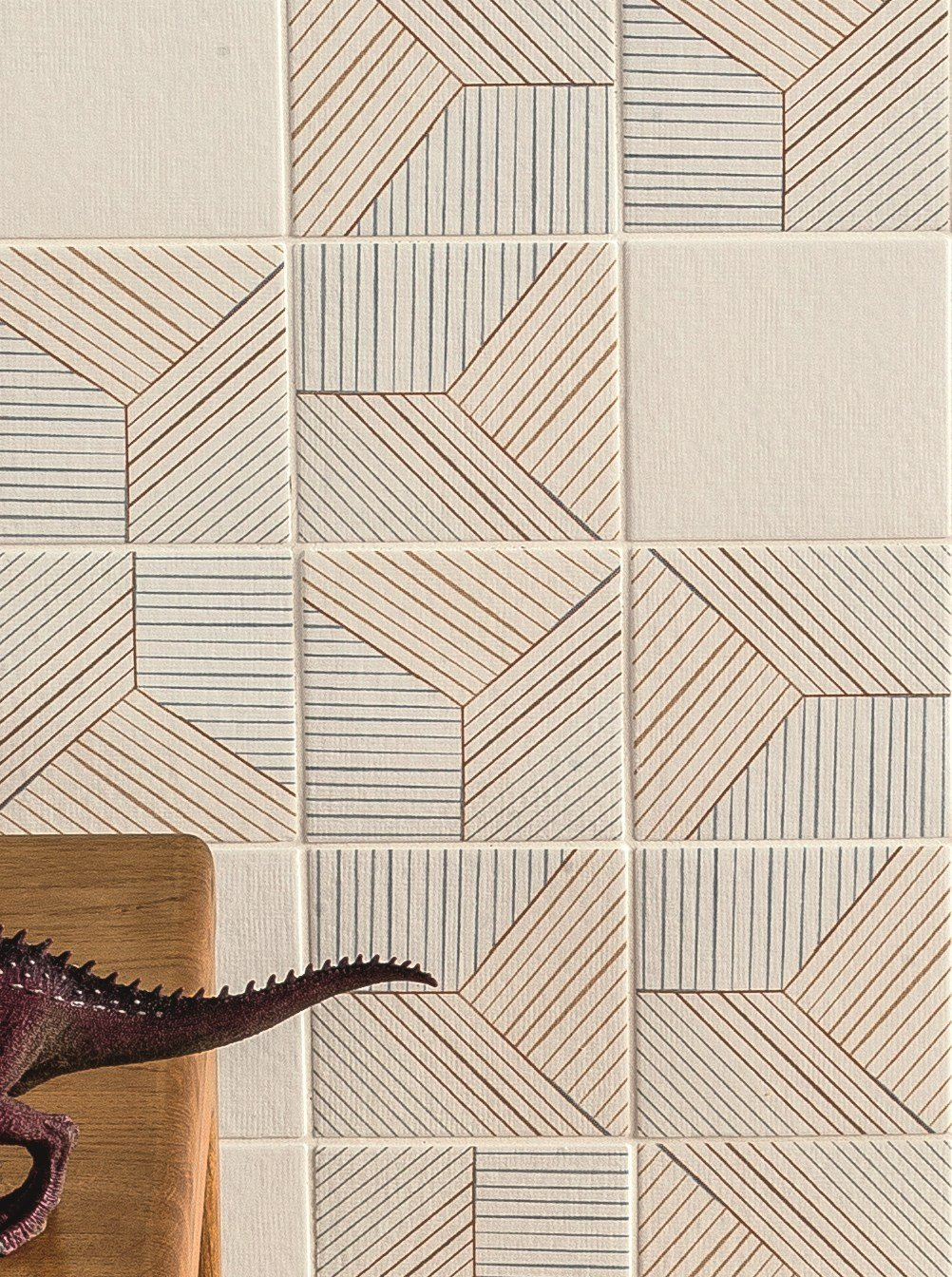 Porcelain Stoneware Wall Floor Tiles Tratti Triple By