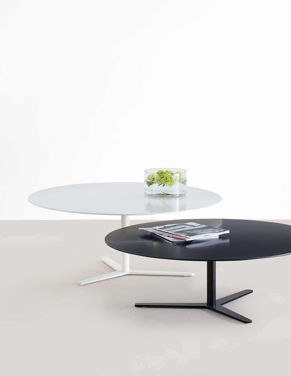 Low Oval Mdf Coffee Table Tre 90 By Mox Design Charles O Job