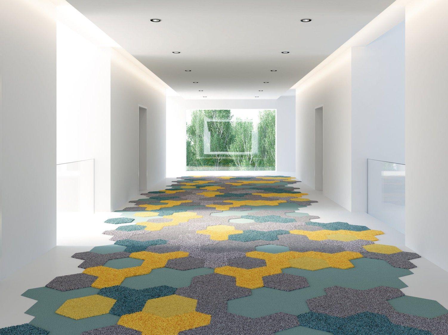 Moquette tappeto tripod by vorwerk co teppichwerke for Moquette geometrique
