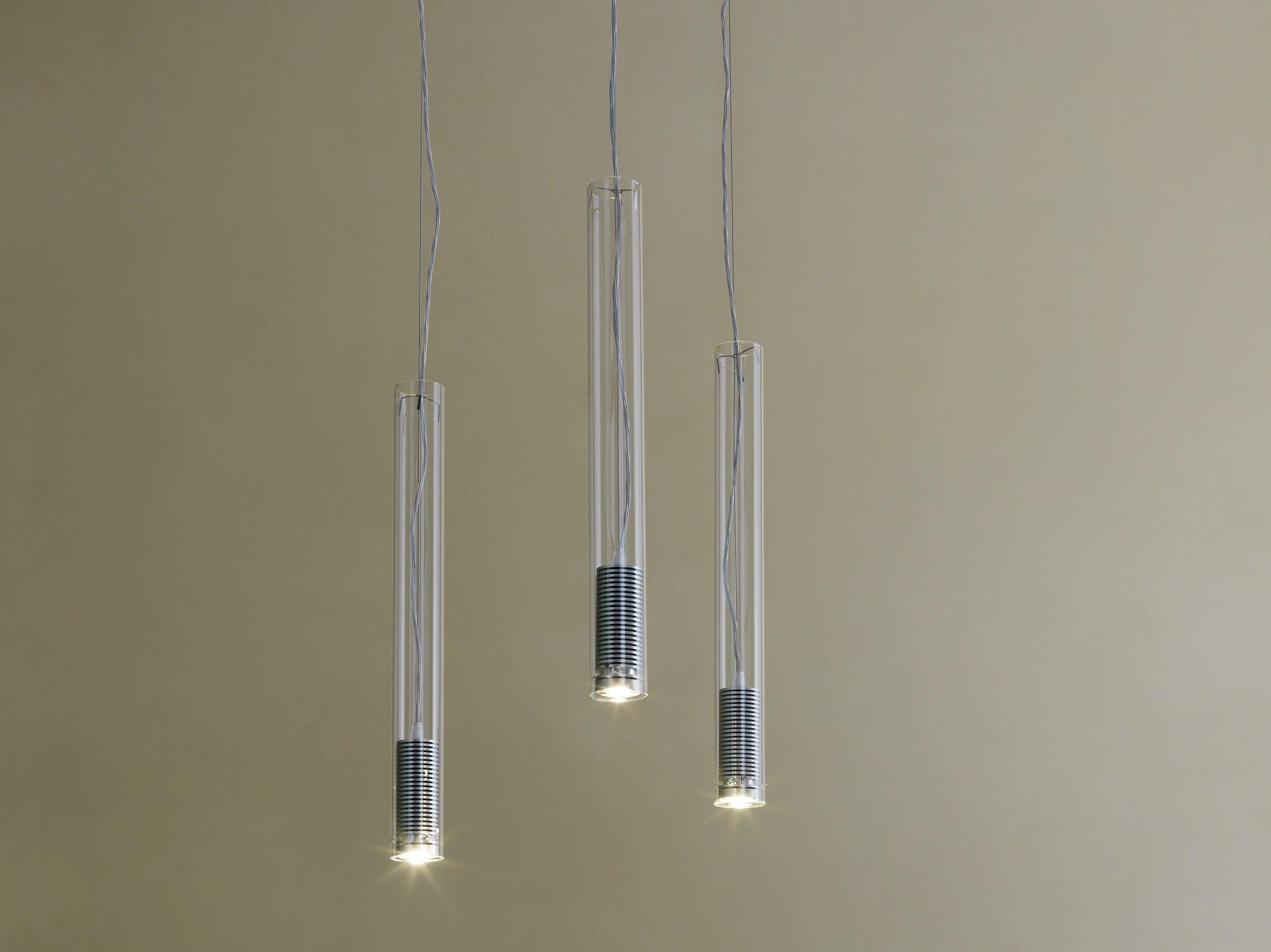 Lampada a sospensione a LED TUBO LED by FontanaArte design Ufficio Tecnico