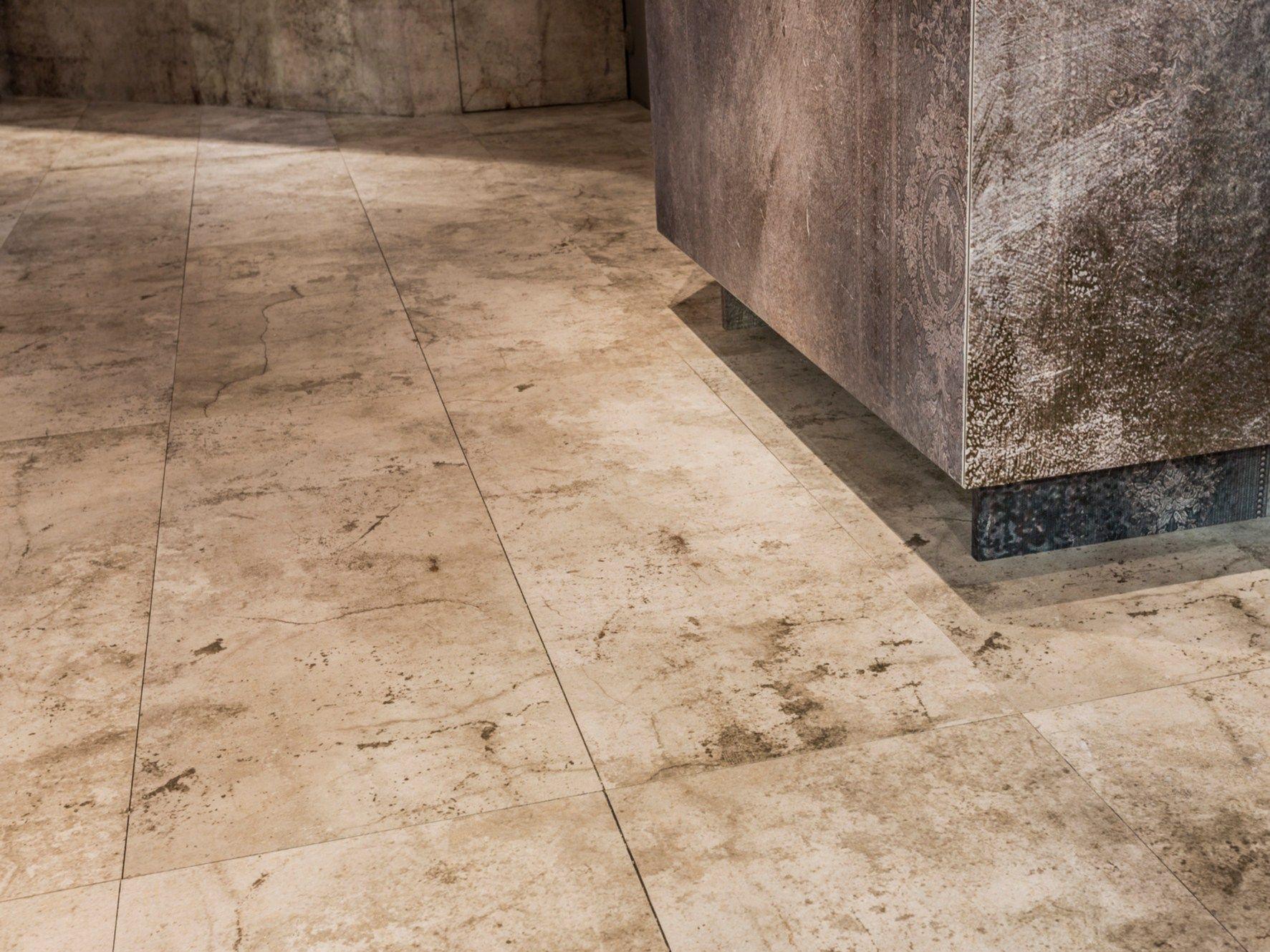Pavimento/rivestimento in gres porcellanato effetto cemento Texture CEMENTO by MOMENTI di Bagnai ...