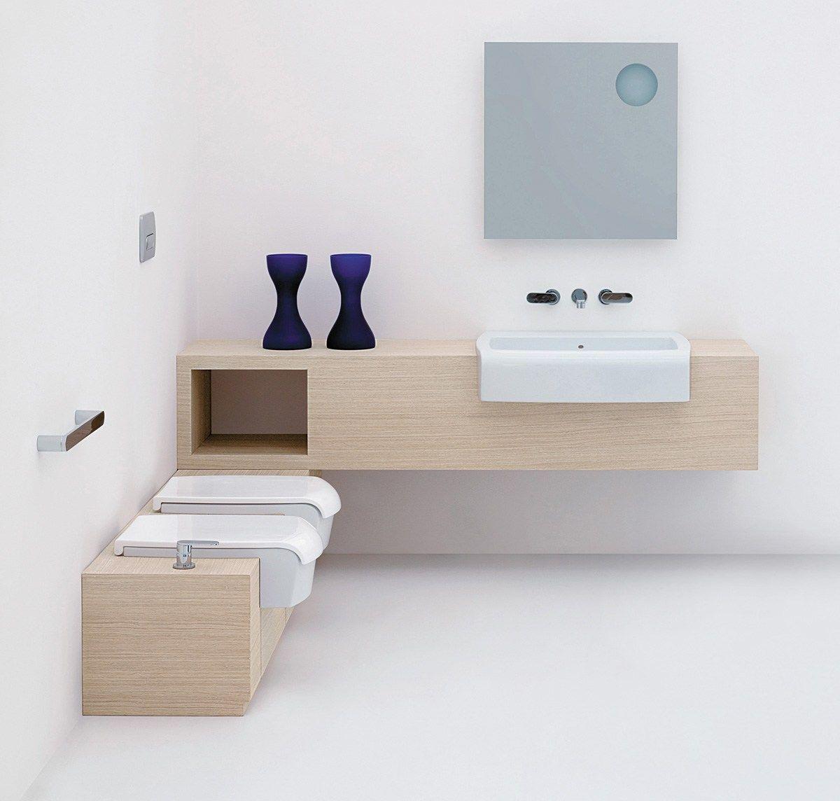 Una bathroom furniture set by ceramica flaminia design for Bathroom furnishings