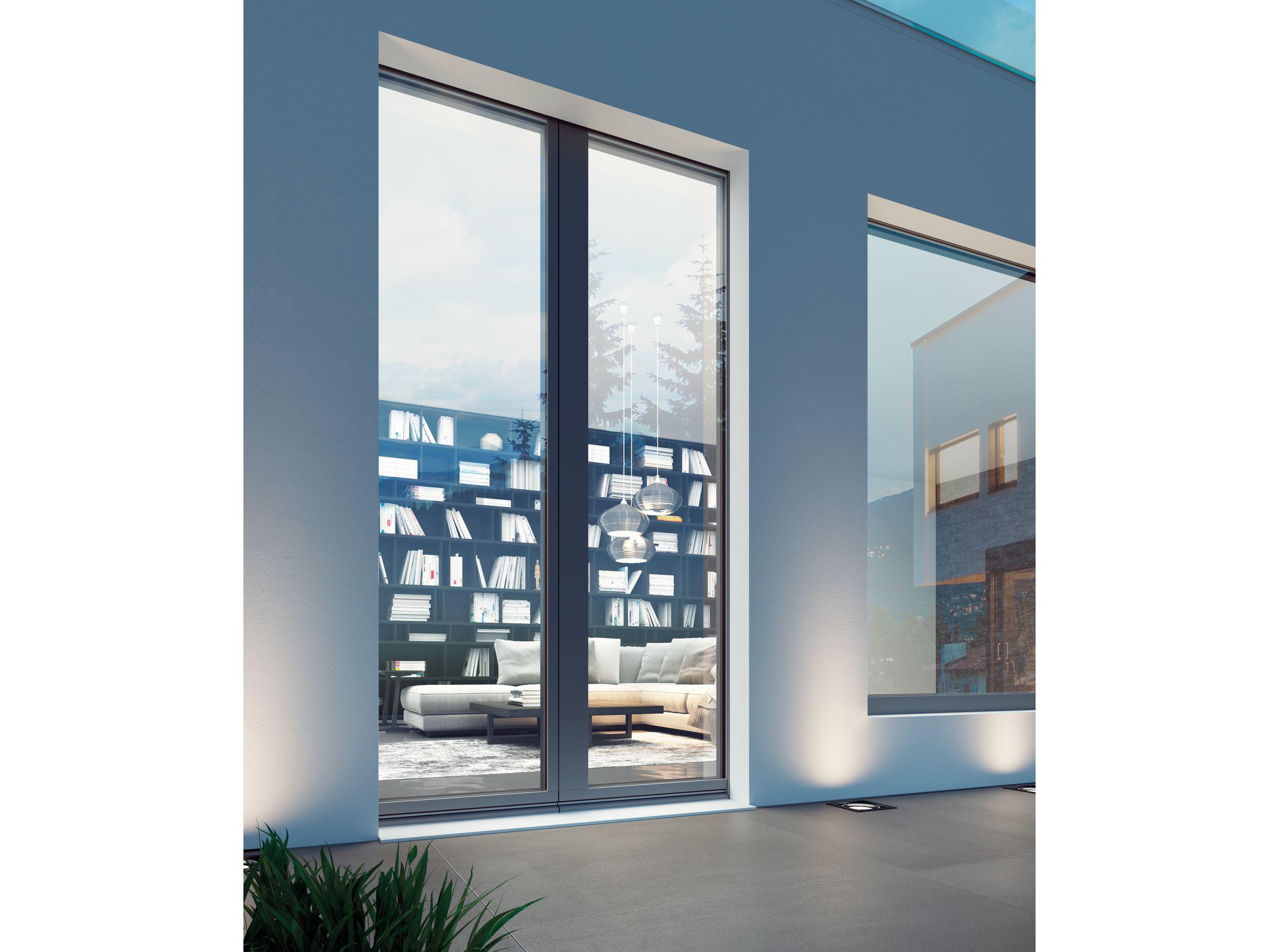 Porta finestra a battente in legno collezione unica by bg for Finestra 4 ante