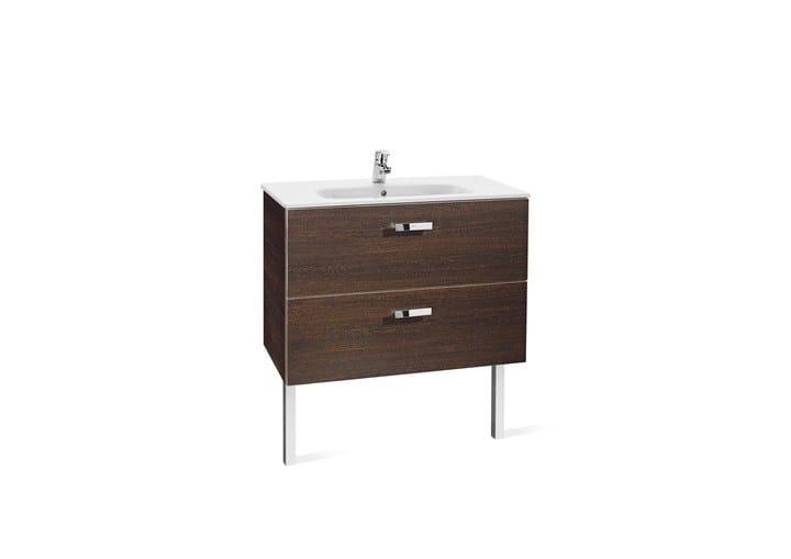 Victoria basic meuble sous vasque simple by roca sanitario for Meuble vasque roca