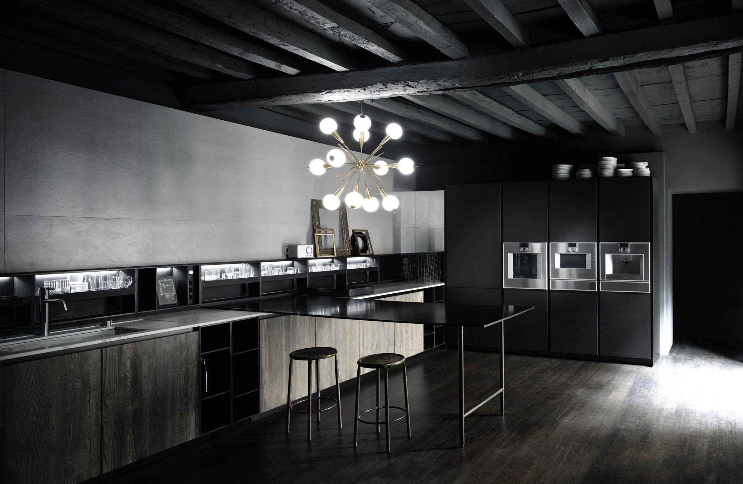 upper units schienale per cucina in paperstone by boffi. Black Bedroom Furniture Sets. Home Design Ideas