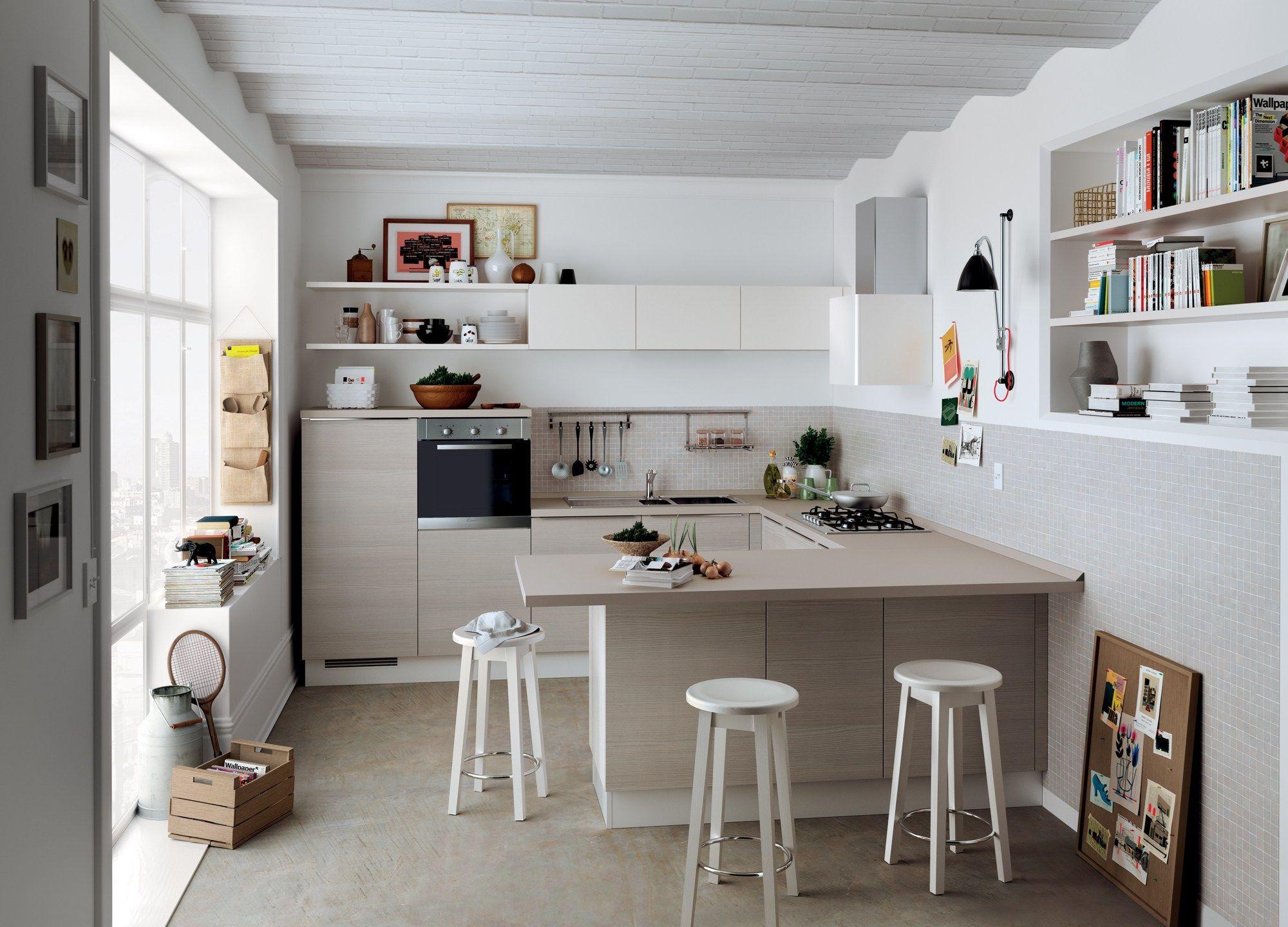 Галерея кухонь компании scavolini, италия.