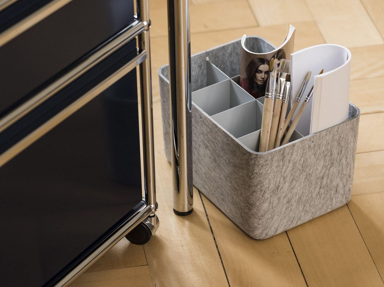 Polyester Fibre Storage Box Usm Inos Box By Usm Modular
