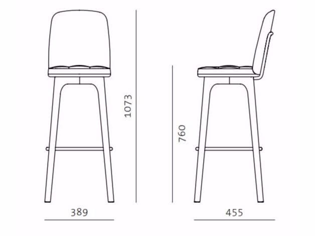 UTILITY HIGH CHAIR SH760 By STELLAR WORKS design NeriHu Design – High Chair Dimensions