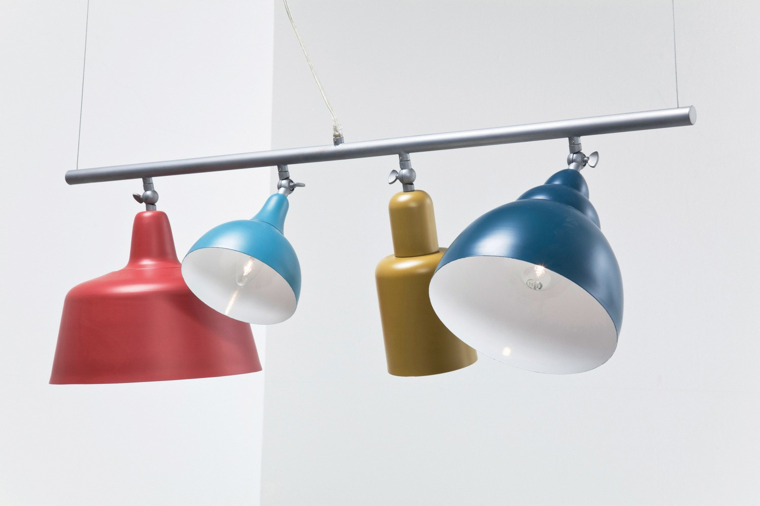 Powder Coated Steel Pendant Lamp Variety By Kare Design