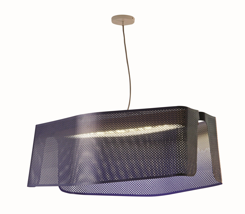Direct Indirect Light Metal Pendant Lamp VERA By ROCHE BOBOIS