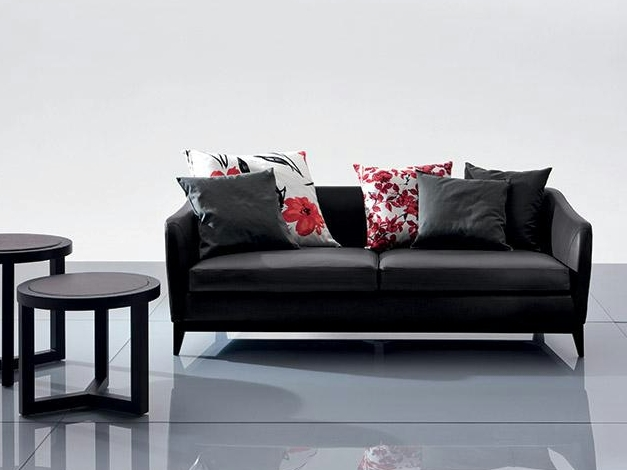 3 seater leather sofa vic collection by marac. Black Bedroom Furniture Sets. Home Design Ideas