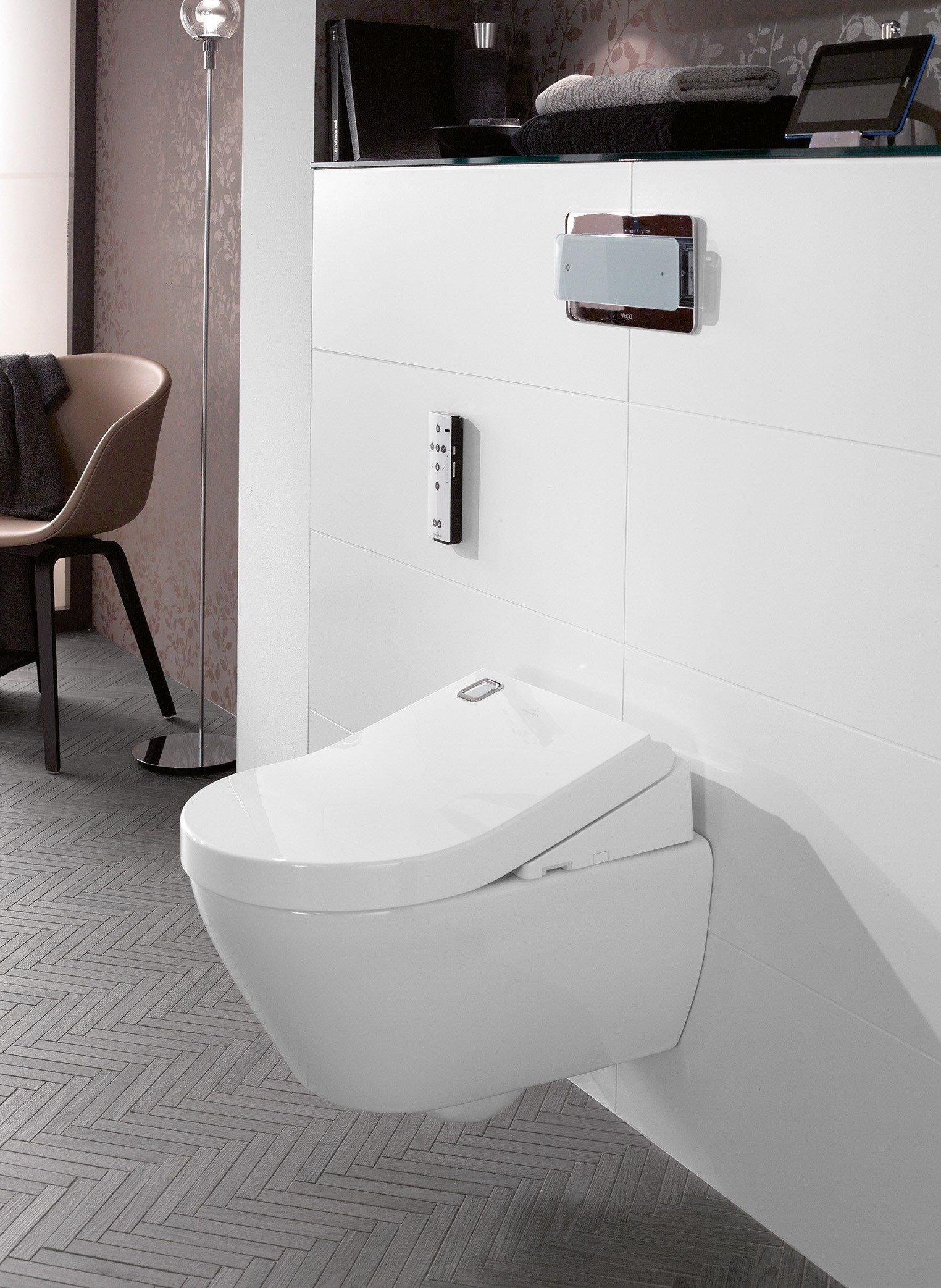 wc bidet sospeso viclean u by villeroy boch. Black Bedroom Furniture Sets. Home Design Ideas