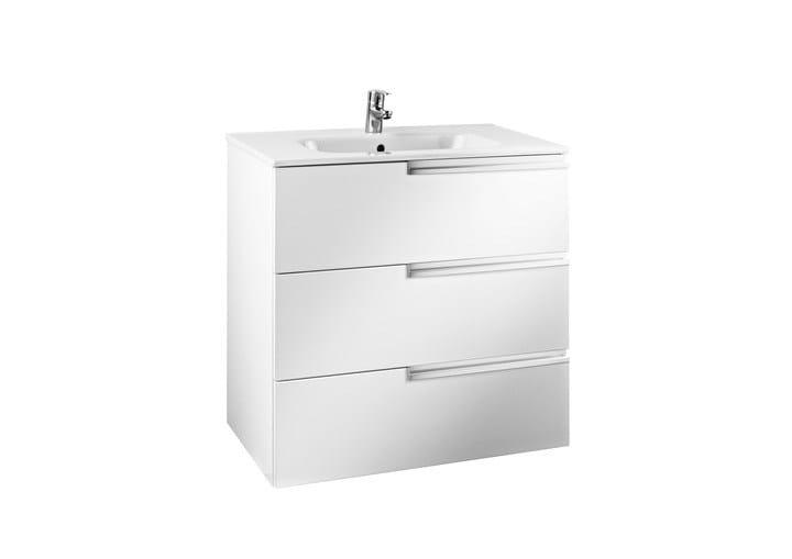 VICTORIA-N Mobile lavabo con cassetti by ROCA SANITARIO