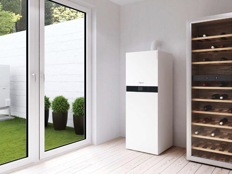 caldaia pompa di calore vitocaldens 222 f by viessmann. Black Bedroom Furniture Sets. Home Design Ideas