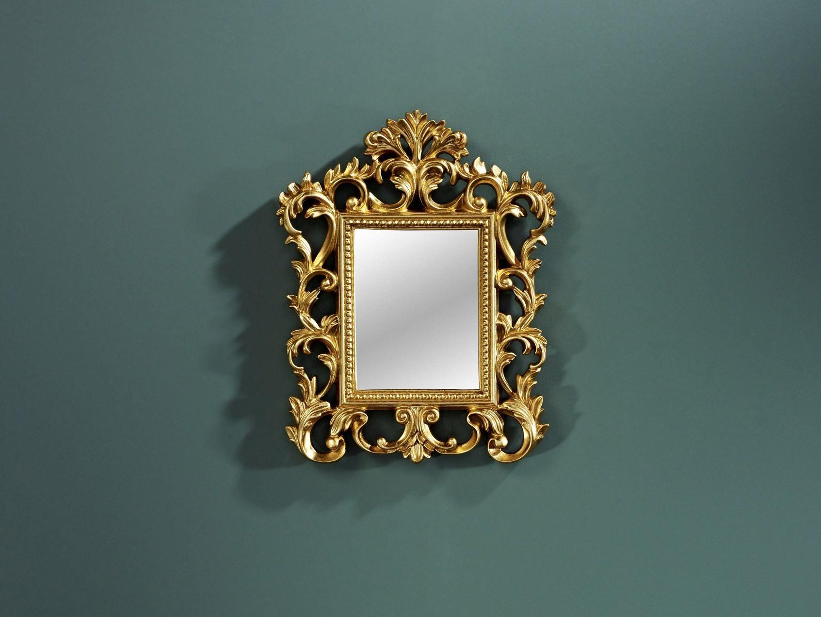 Specchio rettangolare in stile barocco con cornice viva by deknudt ...