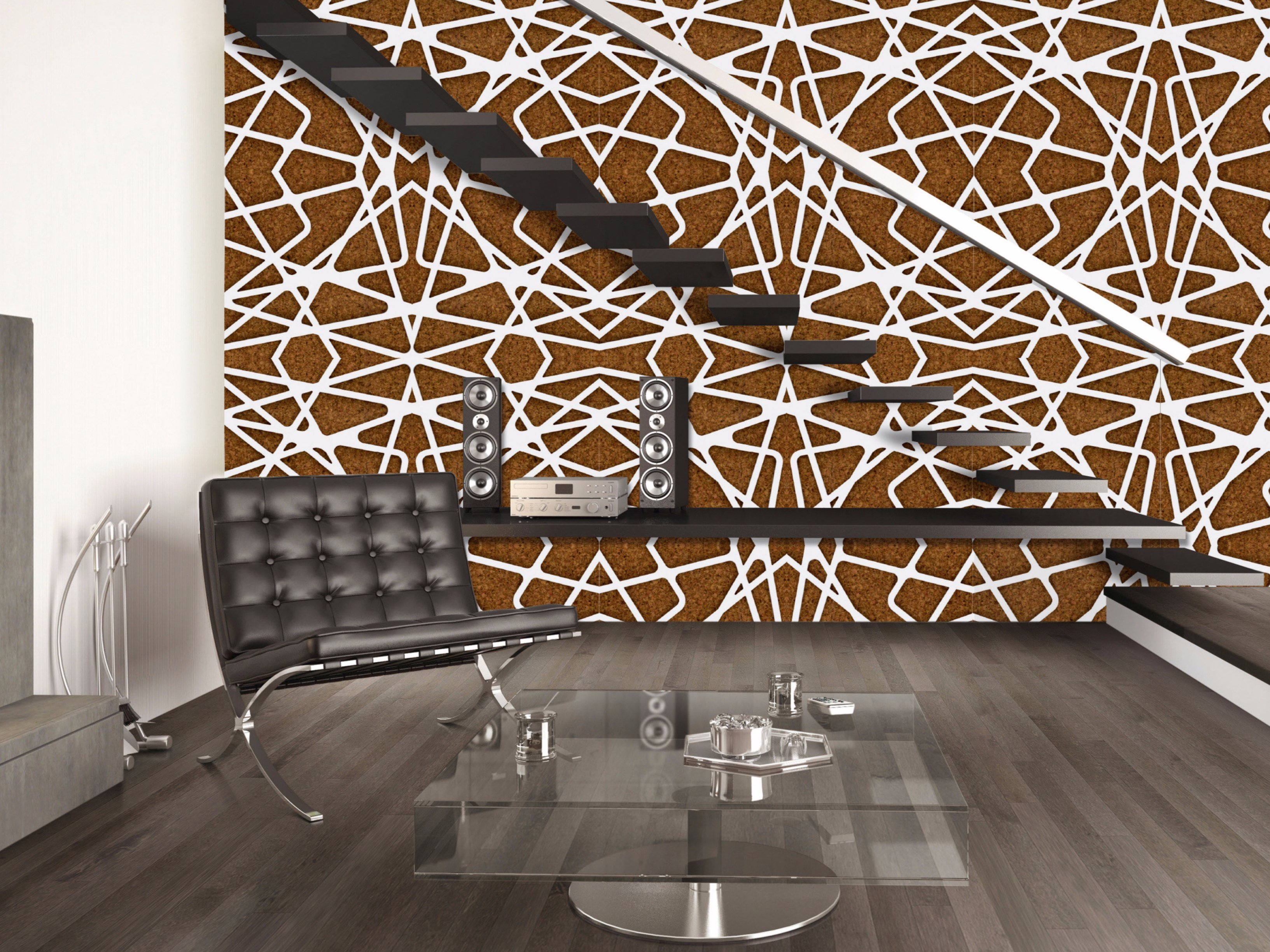 Cork wall tiles WALLCOVER by AMA Design