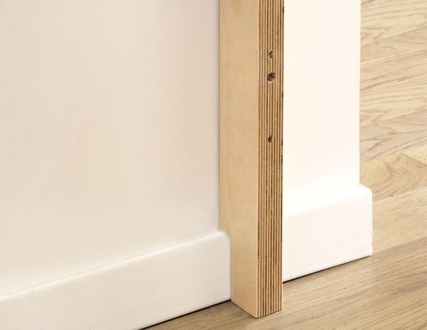 libreria componibile in multistrato wallum by malherbe edition design hugues weill. Black Bedroom Furniture Sets. Home Design Ideas