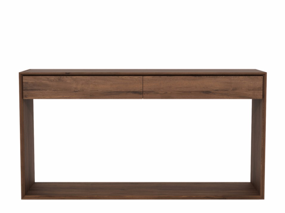 Walnut Console Table walnut nordic | console tableethnicraft