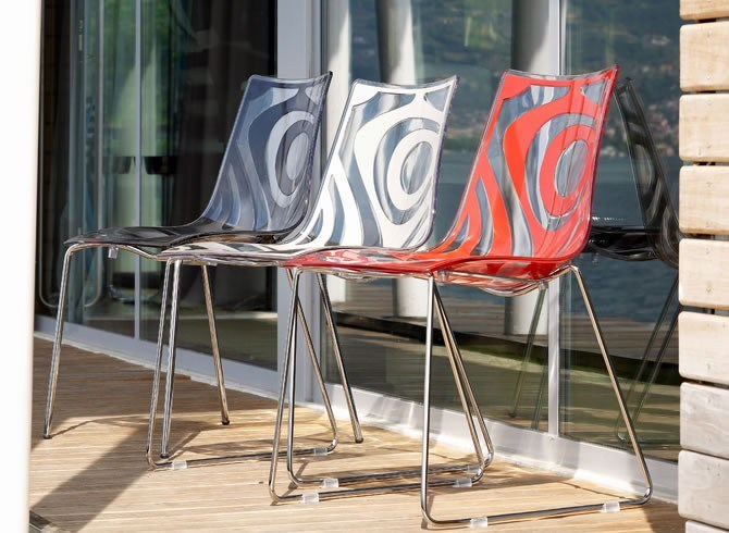 Wave Sled Base Chair By Scab Design Design Luisa Battaglia