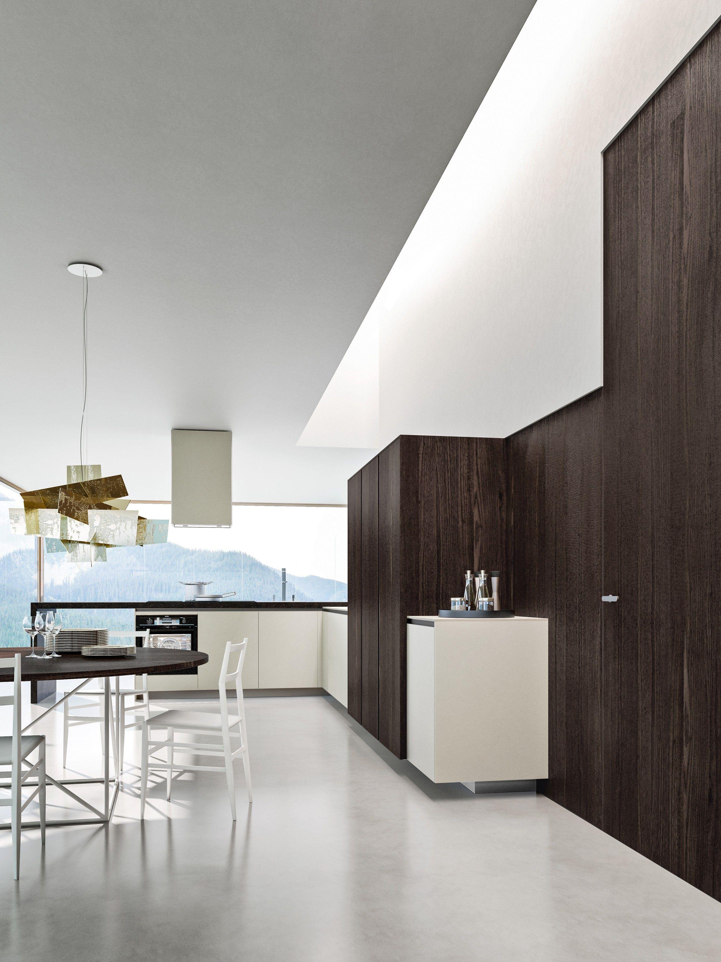 WAY Küche mit Halbinsel Kollektion SISTEMA by Snaidero Design Snaidero