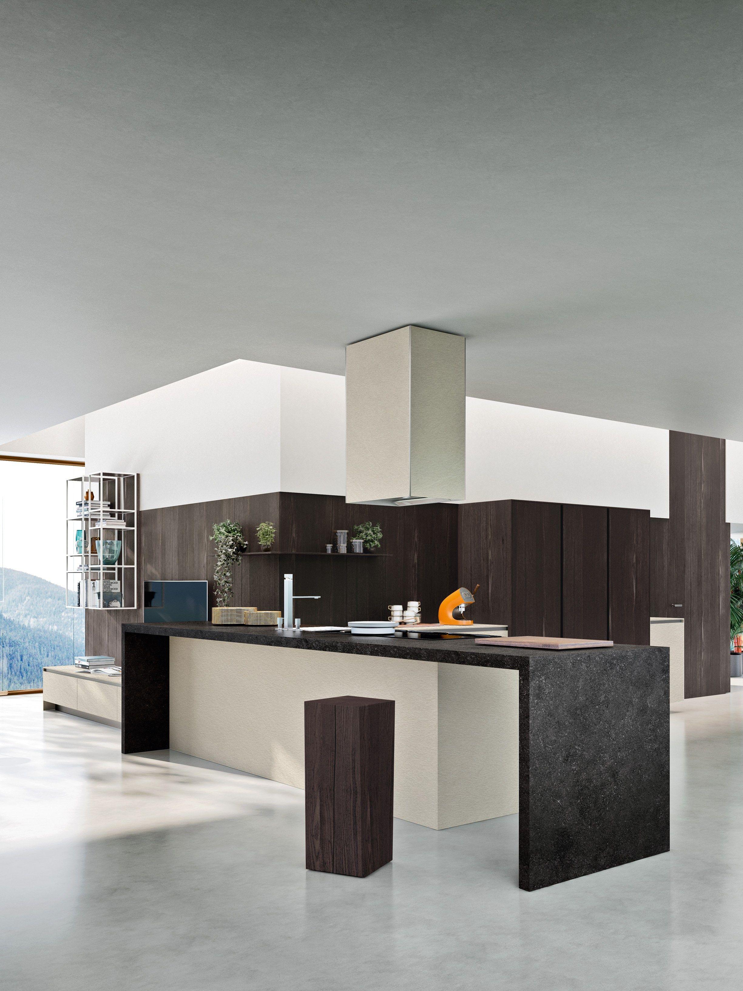 WAY Cucina con penisola Collezione SISTEMA by Snaidero design Snaidero