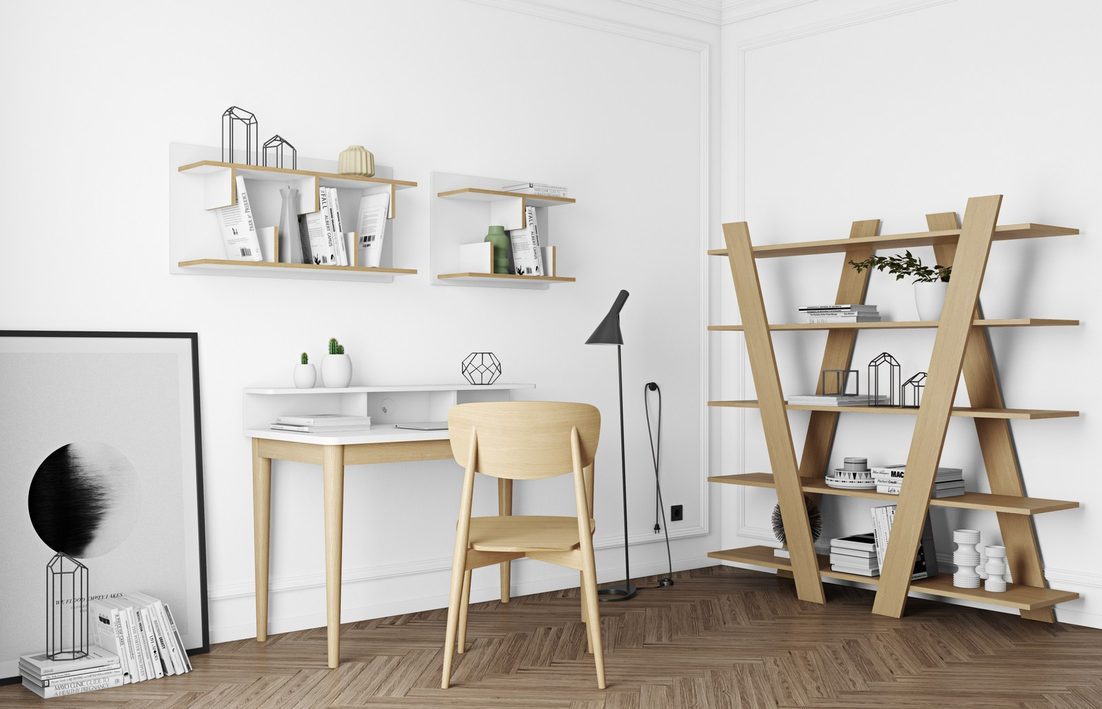 open freestanding shelving unit wind by temahome design nádia soares -