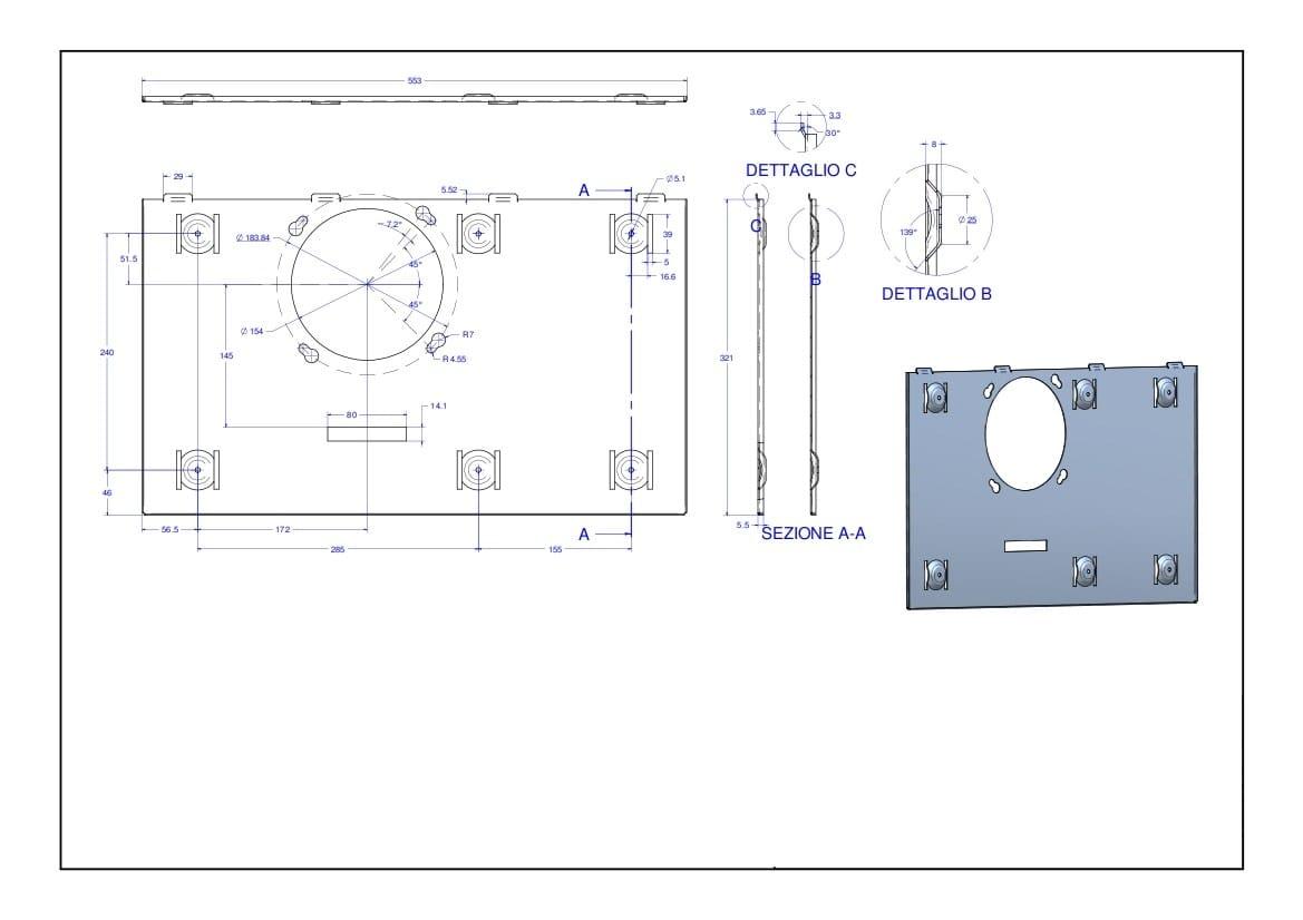 Climatizzatore a parete a pompa di calore senza unit - Unita esterna condizionatore dimensioni ridotte ...
