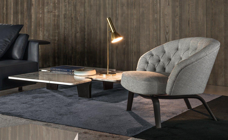 poltrona winston by minotti design rodolfo dordoni. Black Bedroom Furniture Sets. Home Design Ideas
