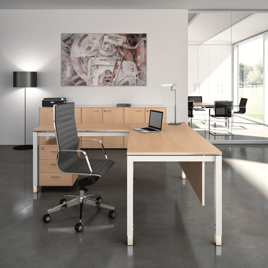 x4 executive desk by quadrifoglio sistemi d 39 arredo design