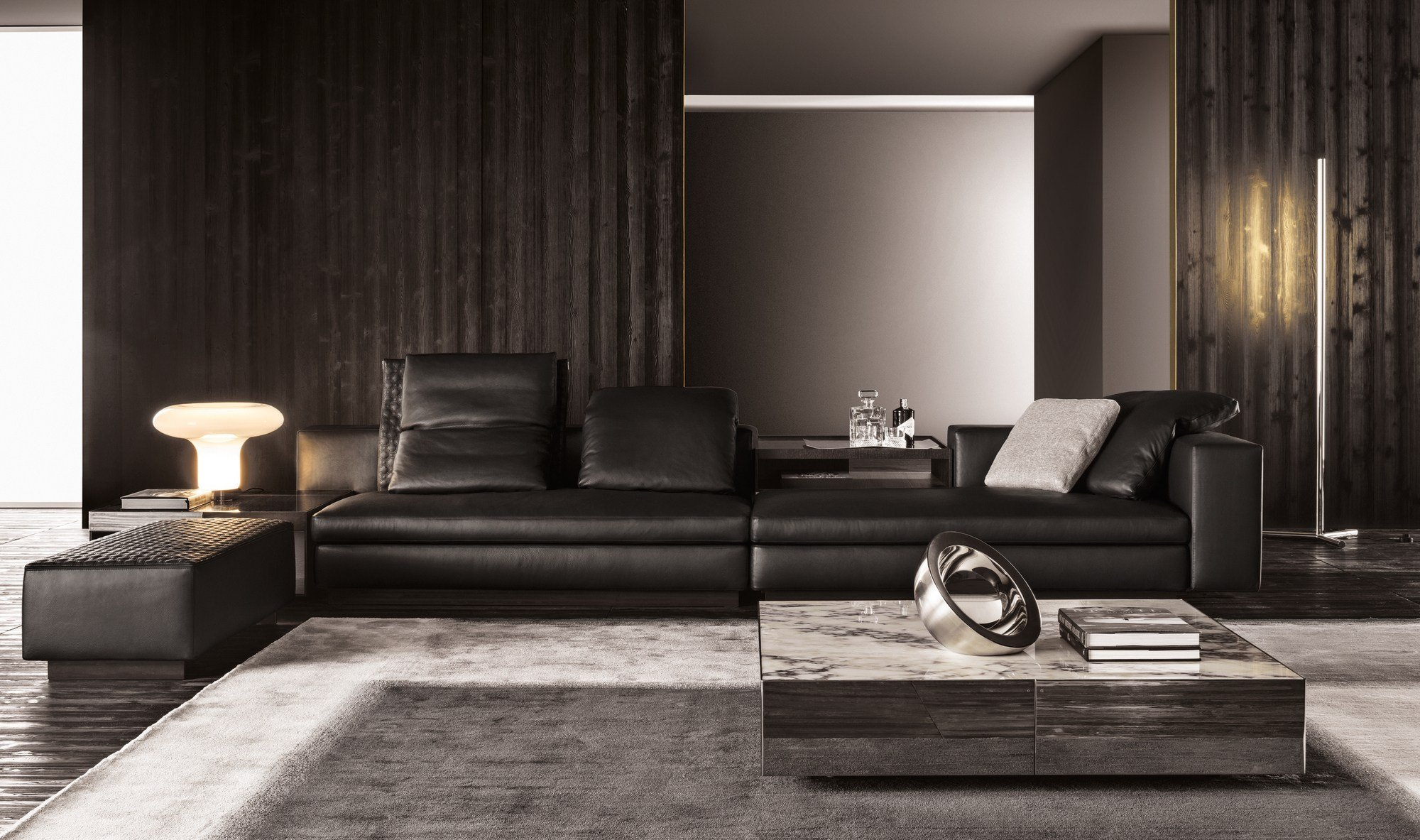 yang by minotti. Black Bedroom Furniture Sets. Home Design Ideas