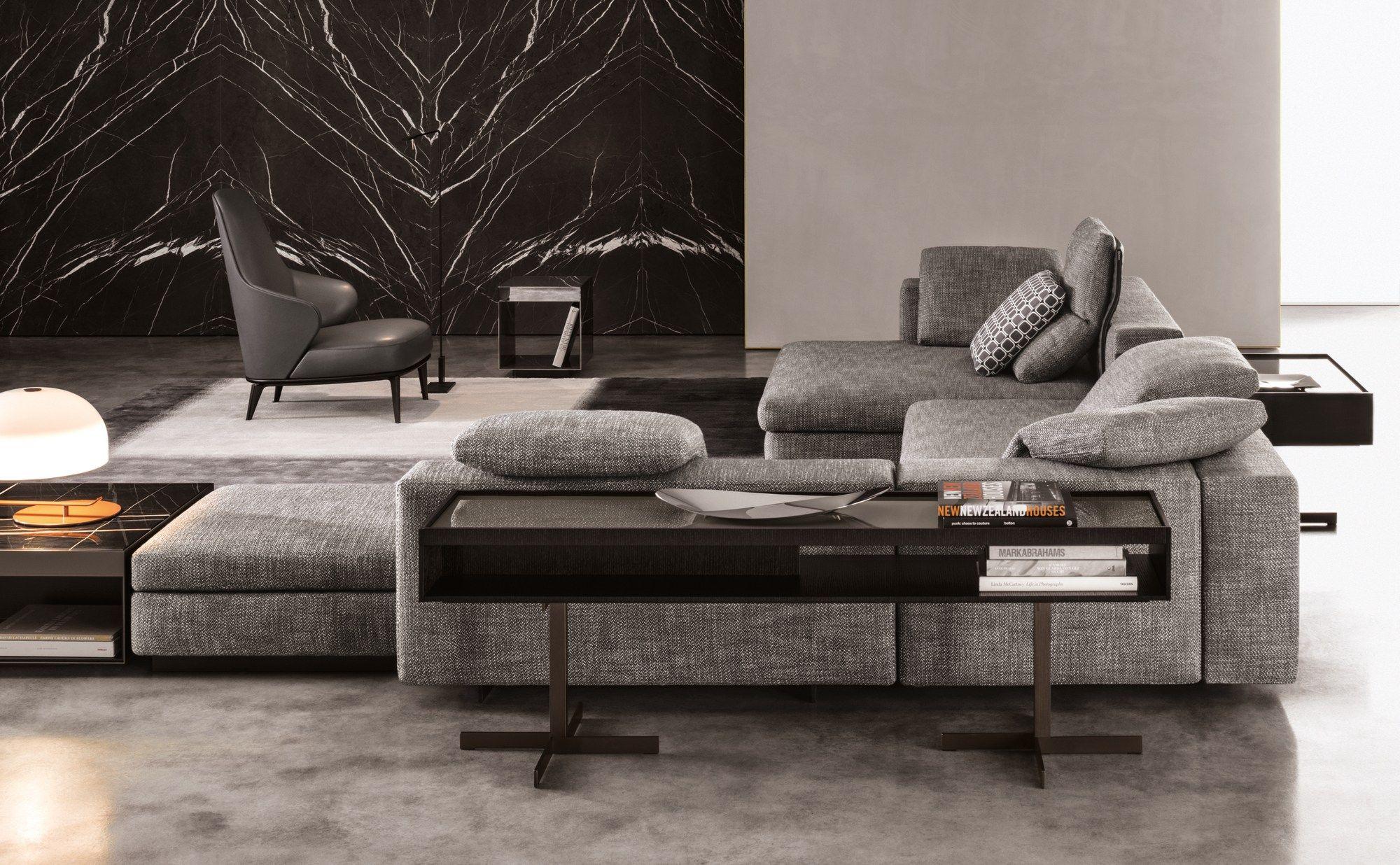 Yang by minotti design rodolfo dordoni for Catalogos de sofas cama