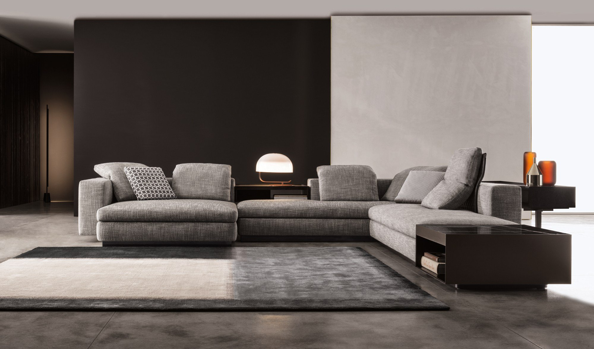 yang by minotti design rodolfo dordoni. Black Bedroom Furniture Sets. Home Design Ideas