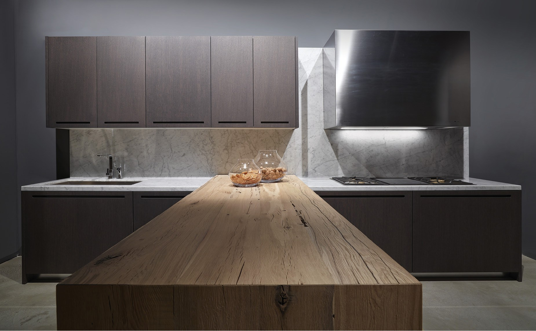 Fitted kitchen zero by rifra for Cappa cucina design