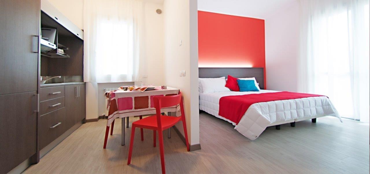 Arredamento per residence in stile moderno zeus by for Arredamento stile moderno