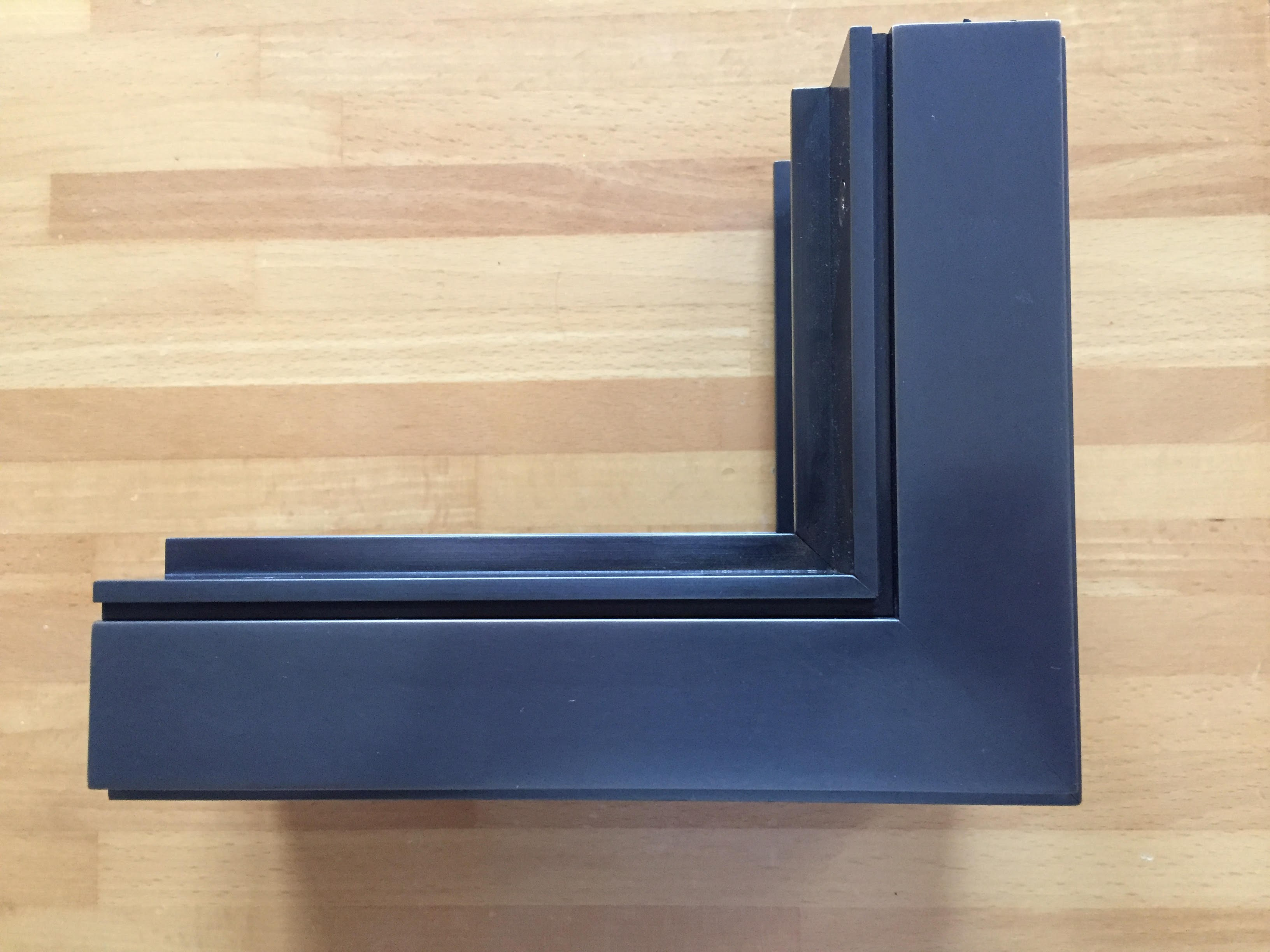 Bronze thermal break window abx d45 by pft hevo for Thermal windows