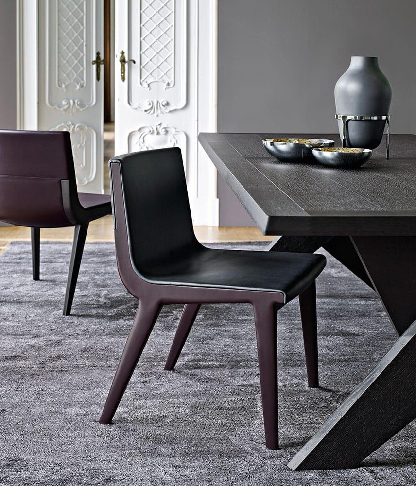 Acanto 39 14 sedia collezione acanto by maxalto a brand of for Sedia b b