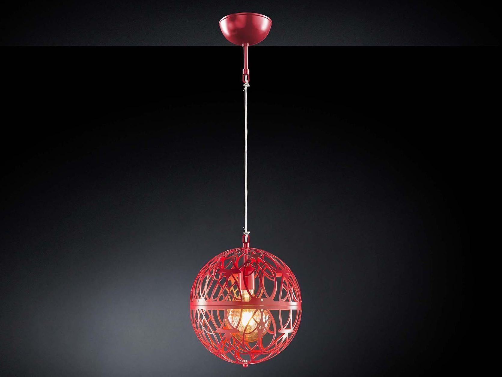 lampada a sospensione a led in acciaio arabesque marte by vgnewtrend - Larabesque Lampade