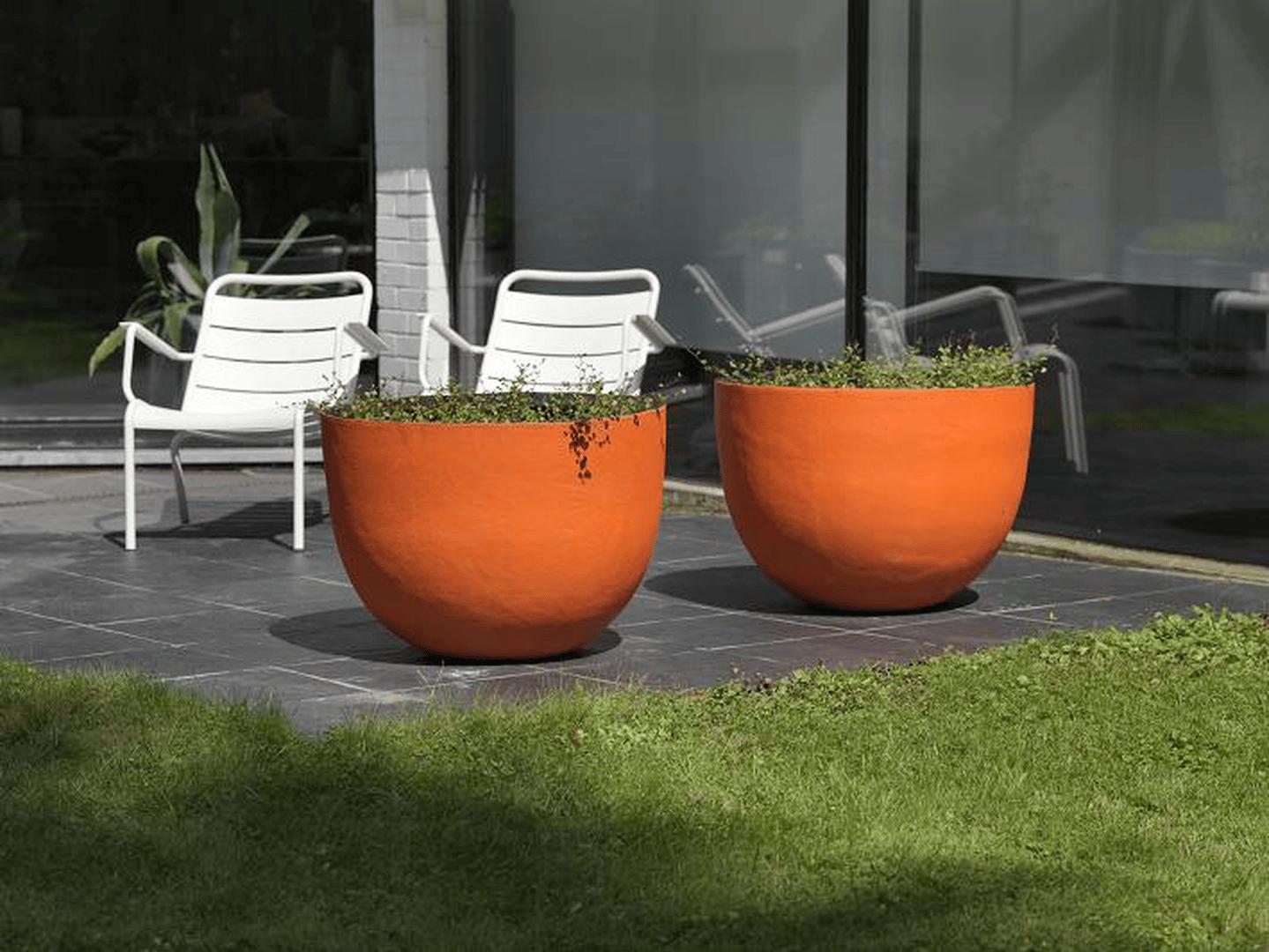 pot de fleurs en terre cuite axel by domani. Black Bedroom Furniture Sets. Home Design Ideas