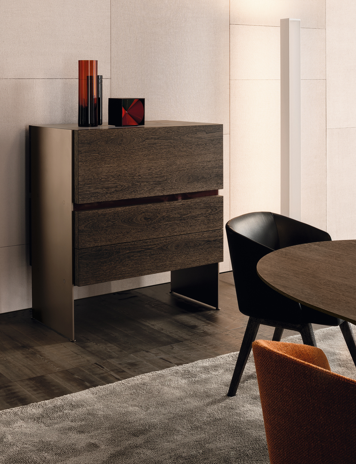 Carson meuble bar collection carson by minotti design - Meubles minotti ...