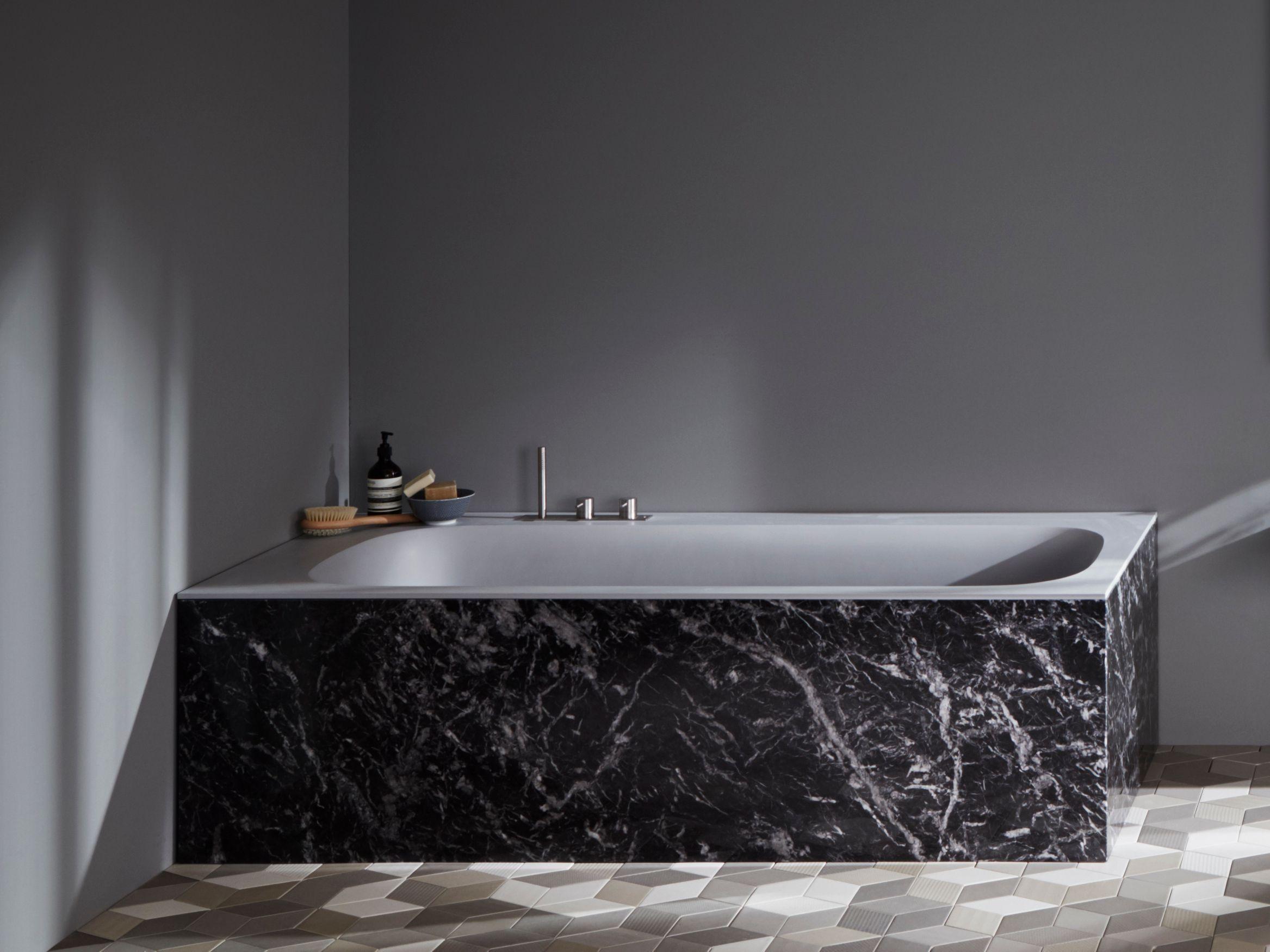 Vasca da bagno collezione r1 by rexa design design monica graffeo - Vasca da bagno rettangolare ...