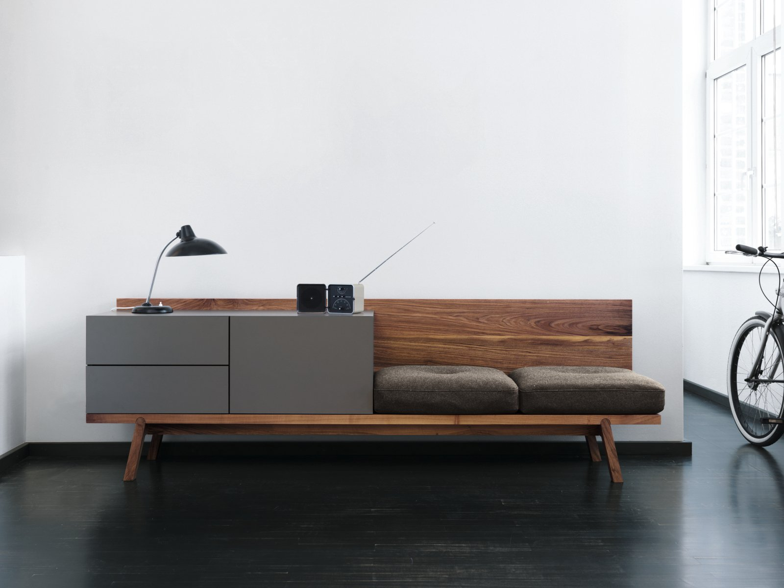 Bc01 hpl sideboard by janua design hoffmann kahleyss for Sideboard 240 cm