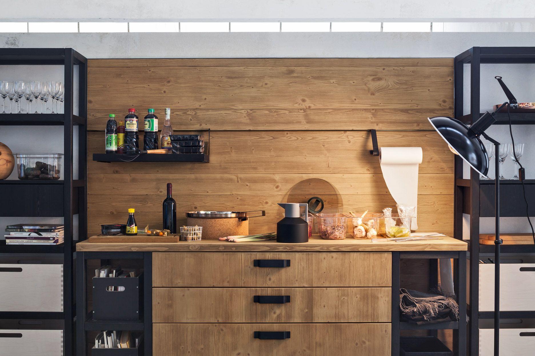 Cucina in legno bilbao collezione fly by callesella for Arredamenti legno