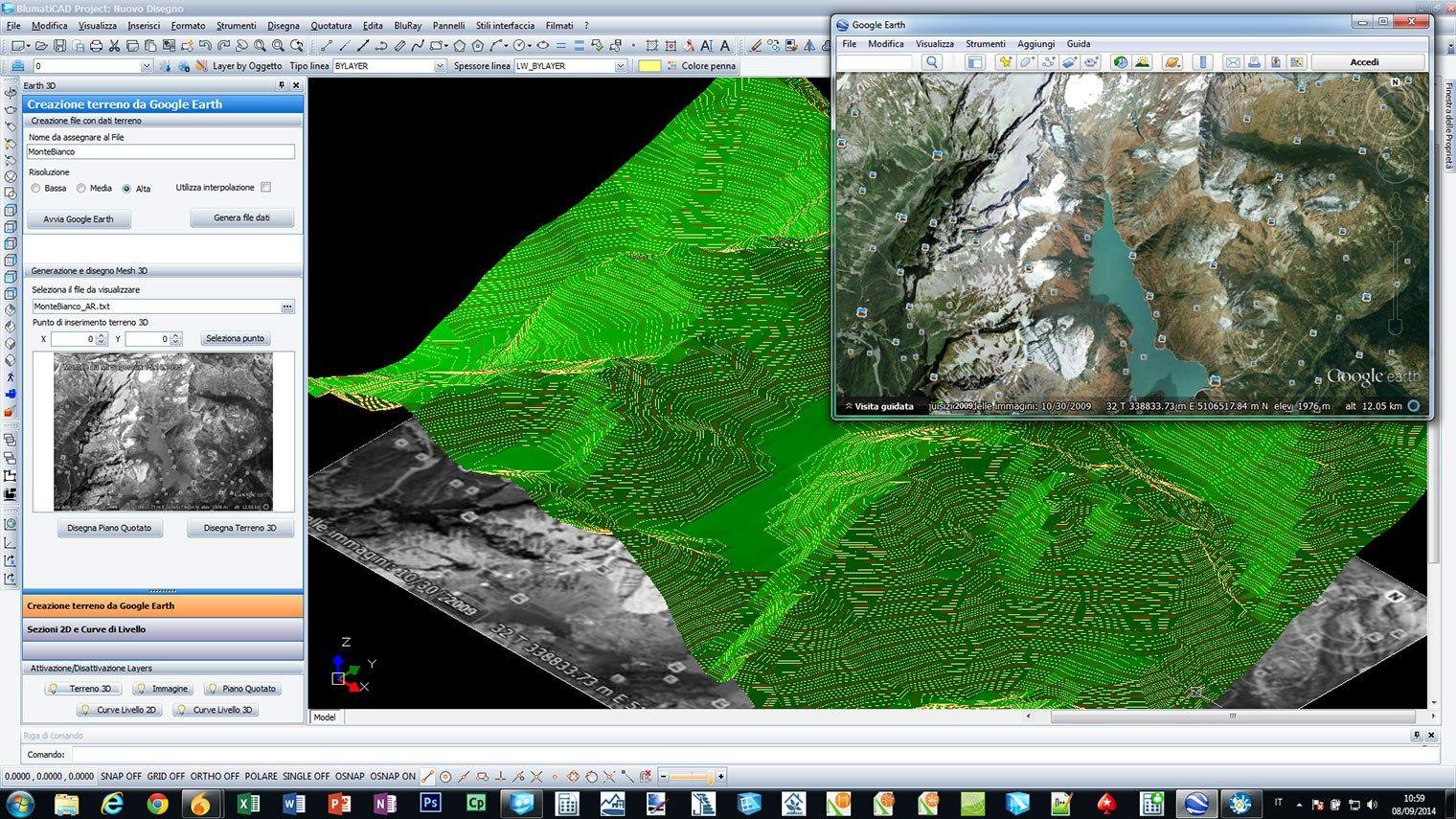 Disegno tecnico cad 2d 3d blumaticad project by blumatica for Software progettazione bagno
