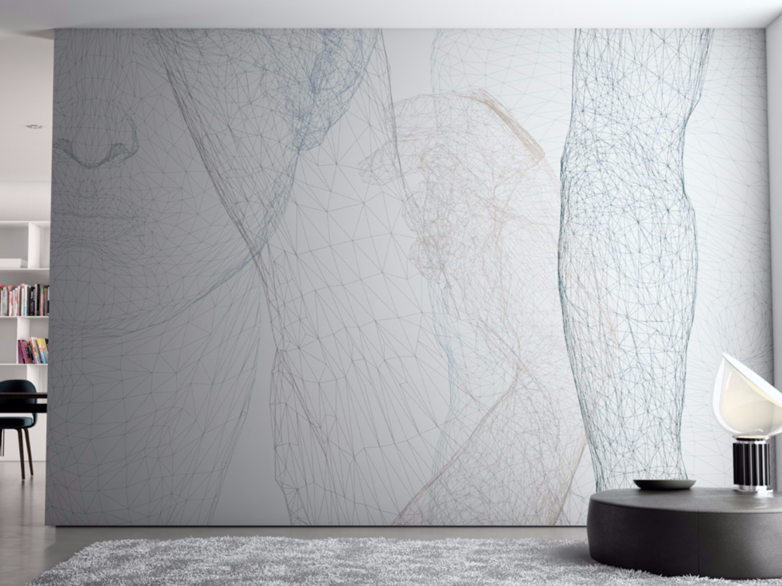 Papel pintado lavable de vinilo bodywall colecci n tassonomia by glamora dise o nigel coates - Papel pintado lavable ...