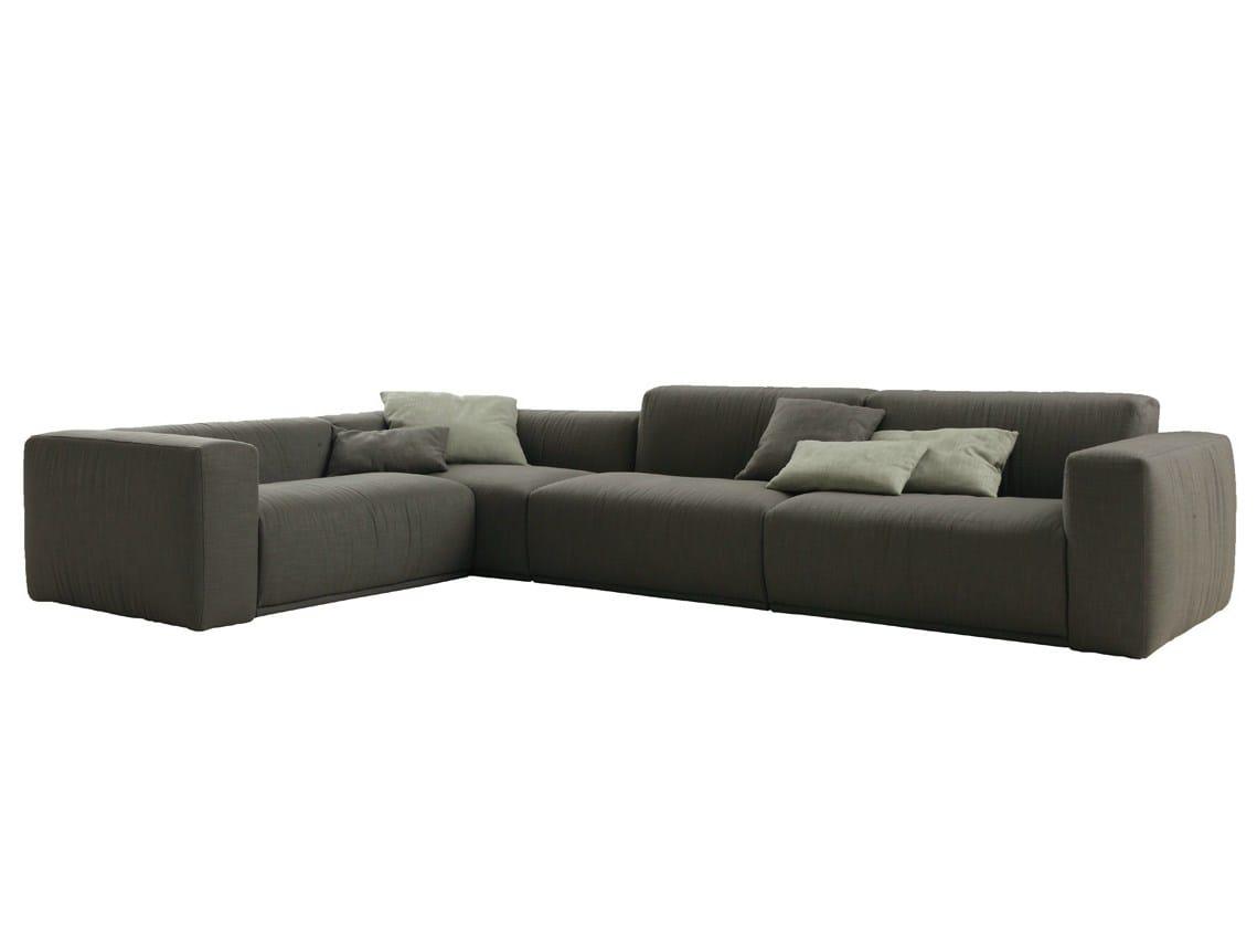 canap d 39 angle composable en tissu avec rev tement. Black Bedroom Furniture Sets. Home Design Ideas