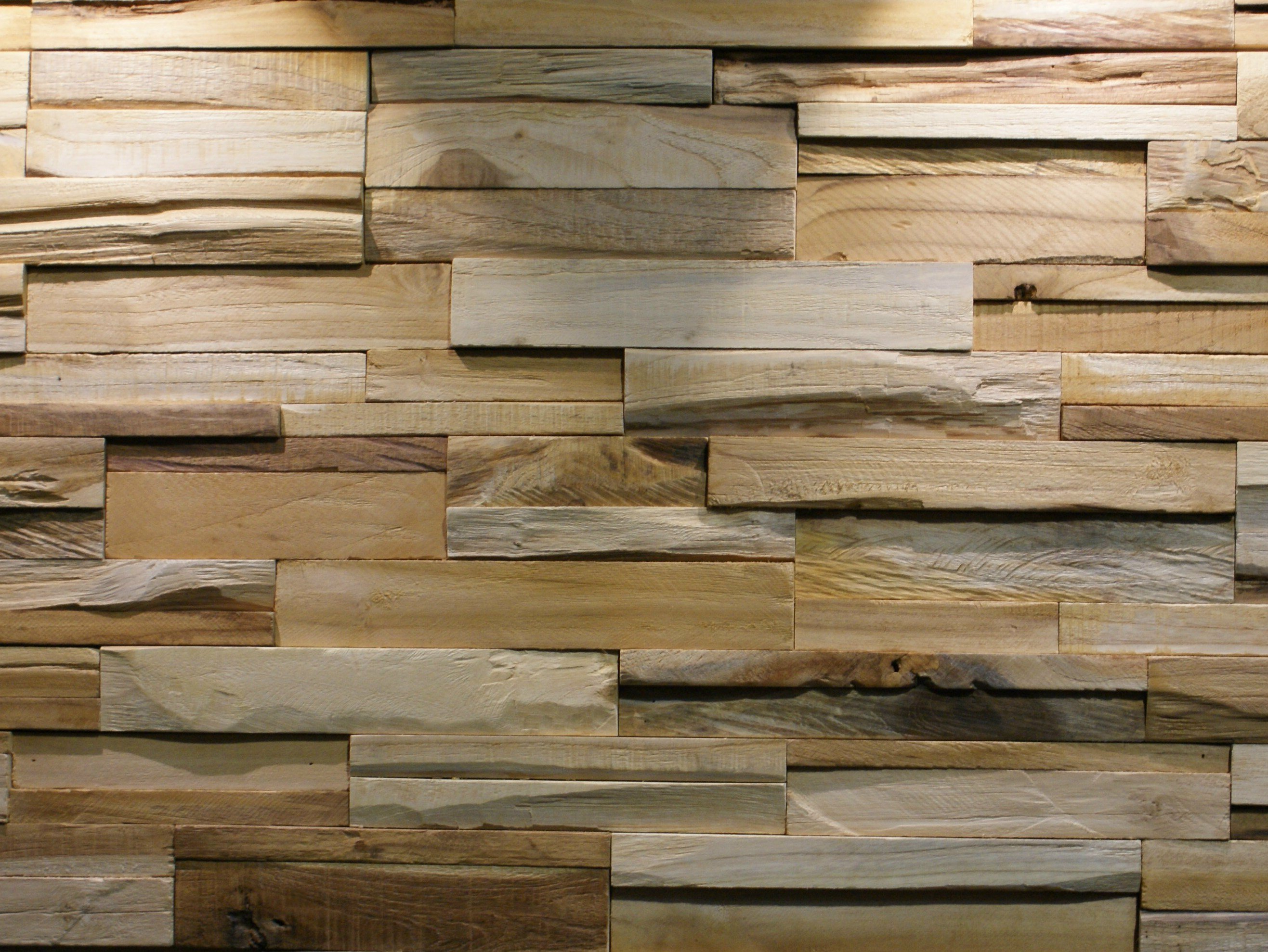 Reclaimed wood 3d wall tile bumpy by teakyourwall for Recycled hardwood