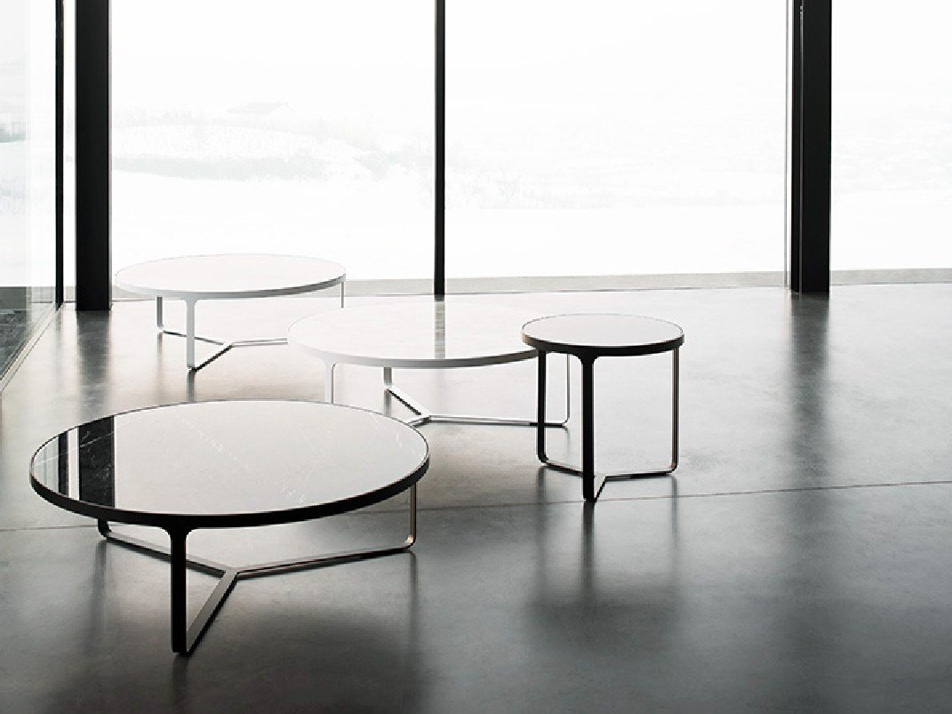 CAGE Round coffee table Cage Collection by Tacchini Italia